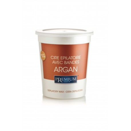 Cire jetable en pot - Argan (700ml) - par 12