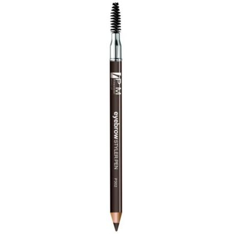 Crayon pour sourcils avec goupillon - couleur café