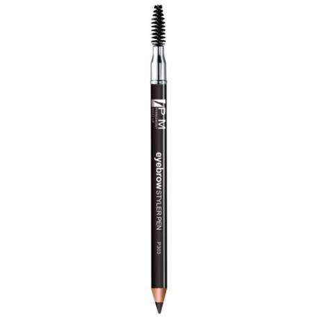 Crayon pour sourcils avec goupillon - couleur  gris