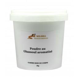 Poudre au ghassoul aromatisé (1kg)