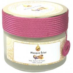 Masque éclat au miel, safran et l'argan